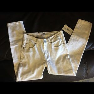 Girls jeans size 8 7 for all mankind.  NWT